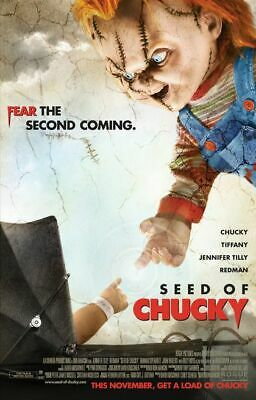 SEED OF CHUCKY great original 27x40 D/S movie poster 2004