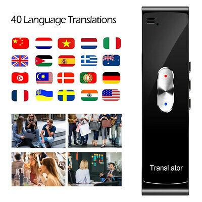 Smart Language Translation Real Time Voice 40 Languages Translator T8S Portable