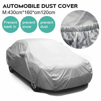 New Universal Full Car Cover Medium Size M UV Protection Breathable Waterproof
