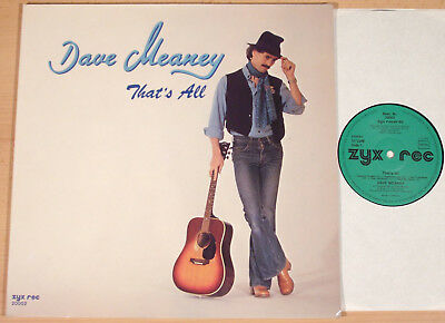 DAVE MEANEY - That's All  (ZYX 1979 / FOC / LP vg++/m-)