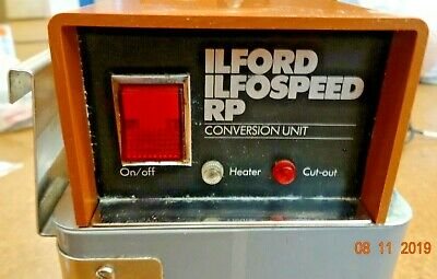 Ilford Ilfospeed RP Conversion Unit Heating tank w/ stirrer and motor