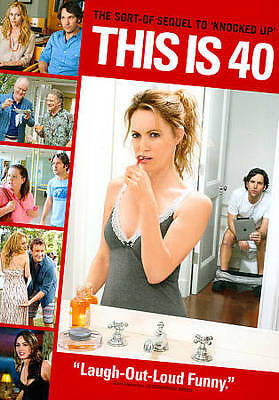 This Is 40 (DVD, Widescreen) - **DISC ONLY**