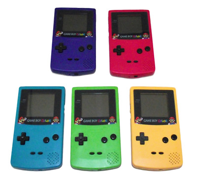 Nintendo Gameboy Color Console GBC Super Mario Screen 5 Colors to Choose From