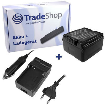 Batterie + Chargeur pour Panasonic SDR-H21 SDR-H40 SDR-H60 SDR-H90