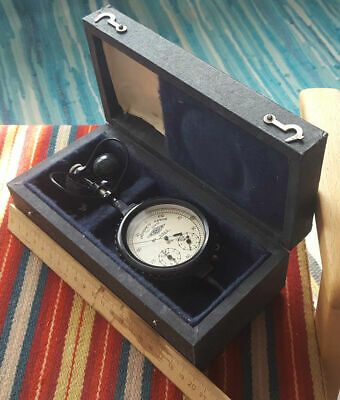 1973 Russian ANEMOMETER Manual Tool  in Original Case with Сertificate USSR