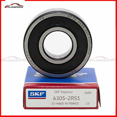 1 pcs SKF 6202-2RSH rubber seals ball bearing Made in France free shipping new