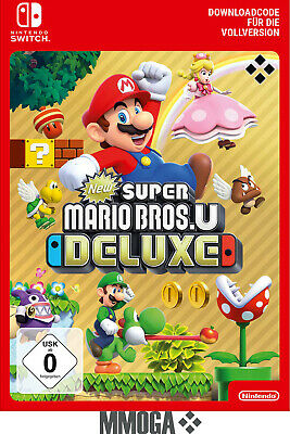 New Super Mario Bros U Deluxe - Nintendo Switch Download Code - [DE/EU]