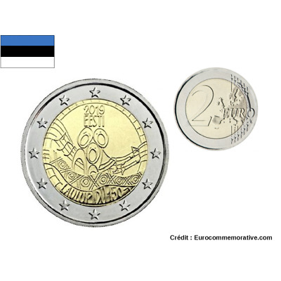 2 Euro Commemorative coin Estonia 2019 '' Song Festival ''