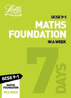 Gcse 9-1 Maths Foundation in a Week by Fiona C Mapp (author)