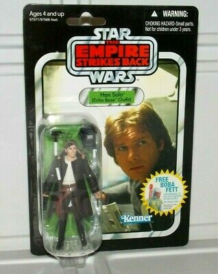 Star Wars The Empire Strikes Back Han Solo (Echo Base) Vintage Collection VC03