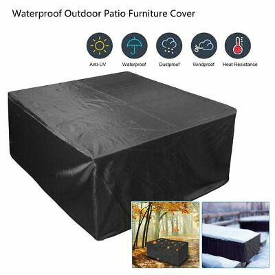 7 Size Waterproof Outdoor Patio Garden Furniture Rain Snow Cover for Table Chair