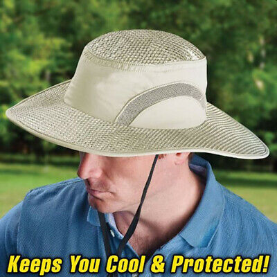 Hydro Cooling Bucket Hat UV Protection Arctic Hat Keep Cooling Sunscreen Cap