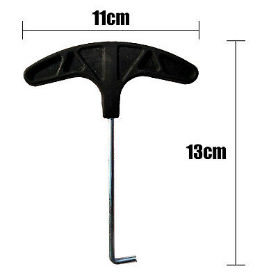 For Jumping Mat Peg Puller Trampoline Spring Tool Steel T Hook Replacement New