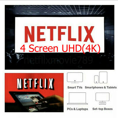 Netflix 4K 4Screen 1Month Private Worldwide💎 Fast delivery as scheduled📩