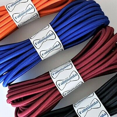 Round Elastic cord - stretch bungee cord  - 5 mm diameter