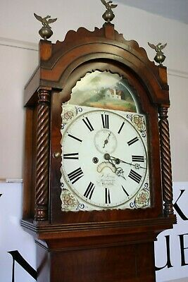 Stunning Restored Longcase Clock - F Jones Bedminster Bristol 1826-42