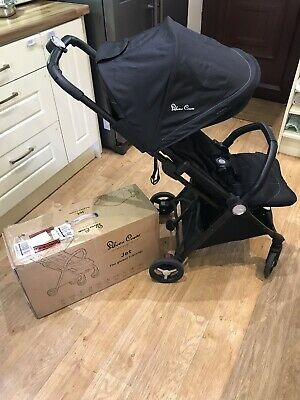 Silver Cross Jet Compact Travel Buggy Pushchair Lightweight Hand Luggage Size