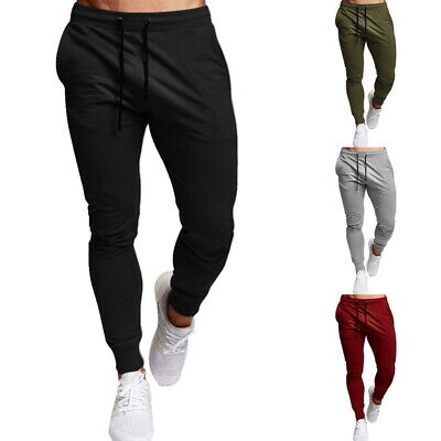 Trainingshose Sporthose Jogginghose Fitness Slim Fit Herren BOLF Basic