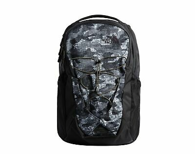The North Face Jester Black Textured Camo Print Backpack A3KV7-8AT One Size