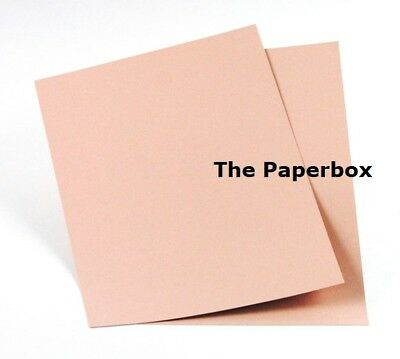 A4 Rose Gold Craft Card, matte, double sided, 240gsm. Choose a pack size