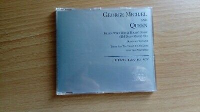 George Michael (Wham!) And Queen Five Live: EP /Remix 4 Track Picture CD