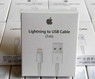 Genuine Boxed Apple Lightning USB Charger Lead Cable For iPhone 7 iPhone 7 Plus
