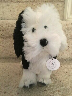 THE MANHATTAN TOY Company White Puppy Dog Plush Pooch Party