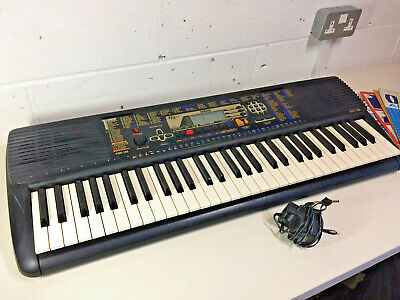 Yamaha PSR 195 61 Key Electronic Keyboard Portatone Portable Grand Piano
