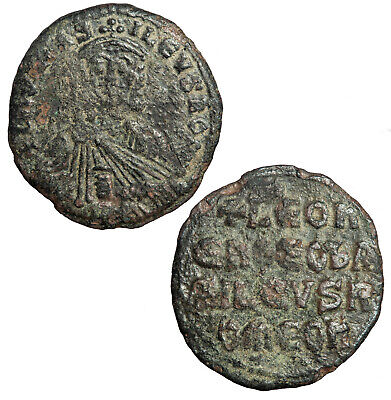 Byzantine follis of Leo VI The Wise.  Constantinople. (4)
