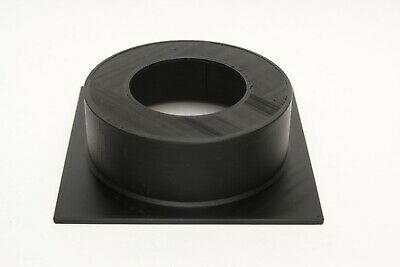 Sinar 40mm extension top hat lens board Copal #3 65mm hole
