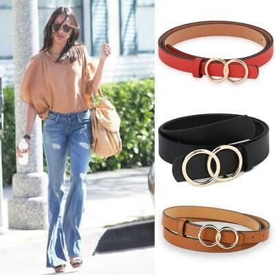 Fashion Cow Leather Pin Buckle All-match Belt Women's Waistband Girdle