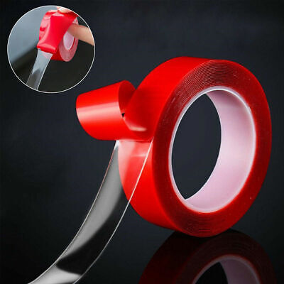 Magic Double-sided Tape Traceless Washable Adhesive Tape Nano Invisible Gel