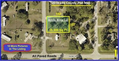 Florida U.S.A. MOBILE HOME LOT, LAND Lehigh Acres Cape Coral North Fort Myers fl