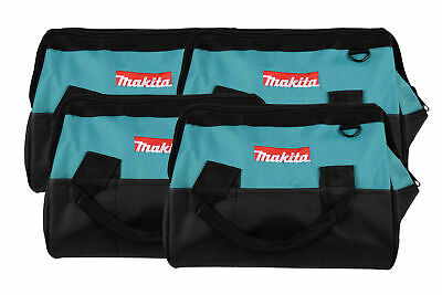 """Makita 14""""Tool bag with reinforced handles, interior and exterior pockets 4 Pack"""