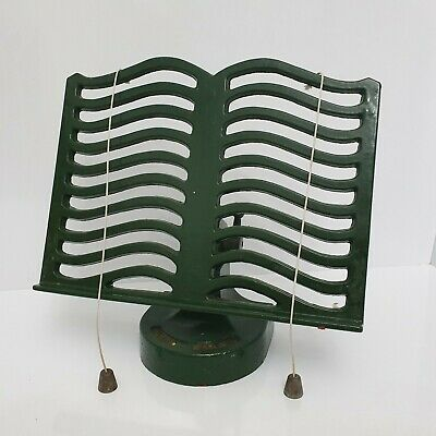 Classic Robert Welch Cook Book Stand Dark Green Enamelled Cast Iron Victor N4