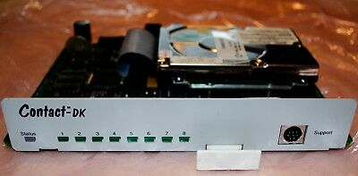 Toshiba Teleco Contact DK Voicemail System 4-Port Works in Many Toshiba Systems