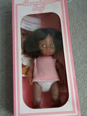 Rare Vintage Boxed Complete Black African American Amanda Jane Baby Doll NRFB