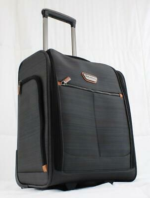"Ricardo Beverly Hills Cabrillo 16"" Wheeled Under Seat Carry On Suitcase Gray"