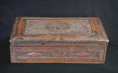 Antique Chinese Export Wood Box