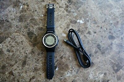 Golf Buddy WT6 GPS Watch Black Range Finder