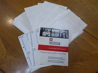 Paterson Photographic 50 x Large Format Negative Storage Sheets