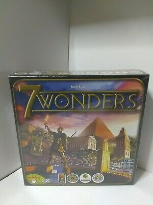 7 Wonders SEVEN WONDERS Board Game Asmodee (NEW SEALED AUTHENTIC FREE SHIPPING)