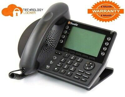 ShoreTel Mitel IP480G Gigabit 8-line VoIP System IP Phone BRAND NEW