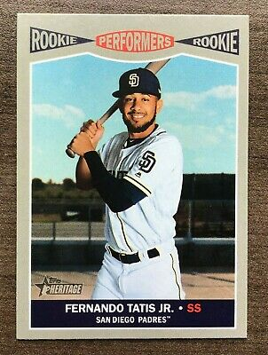 2019 Topps Heritage High Number Rookie Performers Insert ~ Pick your Card