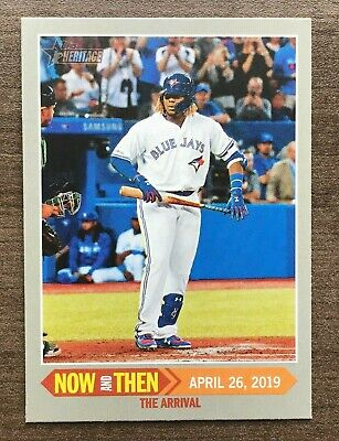 2019 Topps Heritage High Number Now and Then Insert ~ Pick your Card