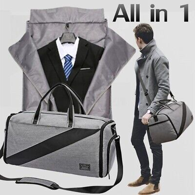 Clothes Travel Bag Men Sport Garment Shoes Carry On Suit Handbag Luggage Tote