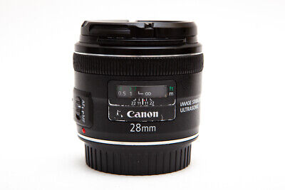 Canon EF 28mm 28 f/2.8 f2.8 IS USM Wide Angle Lens (READ DESCRIPTION)