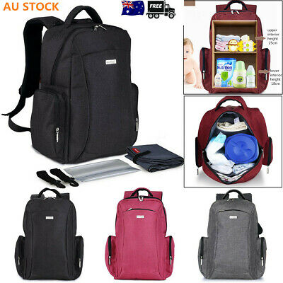 Women Large Multifunctional Baby Diaper Bag Mummy Travel Backpack Nappy Changing