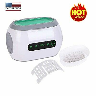 Ultrasonic Jewelry Cleaner, 600ml Touch Screen Electric Ultrasound Cleaner