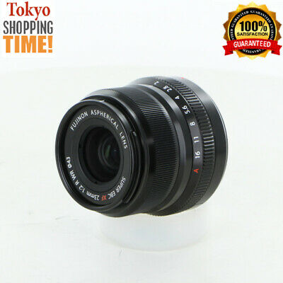 Fujifilm Fujinon ASPH Super EBC XF 23mm F/2 R WR Black Lens Japan